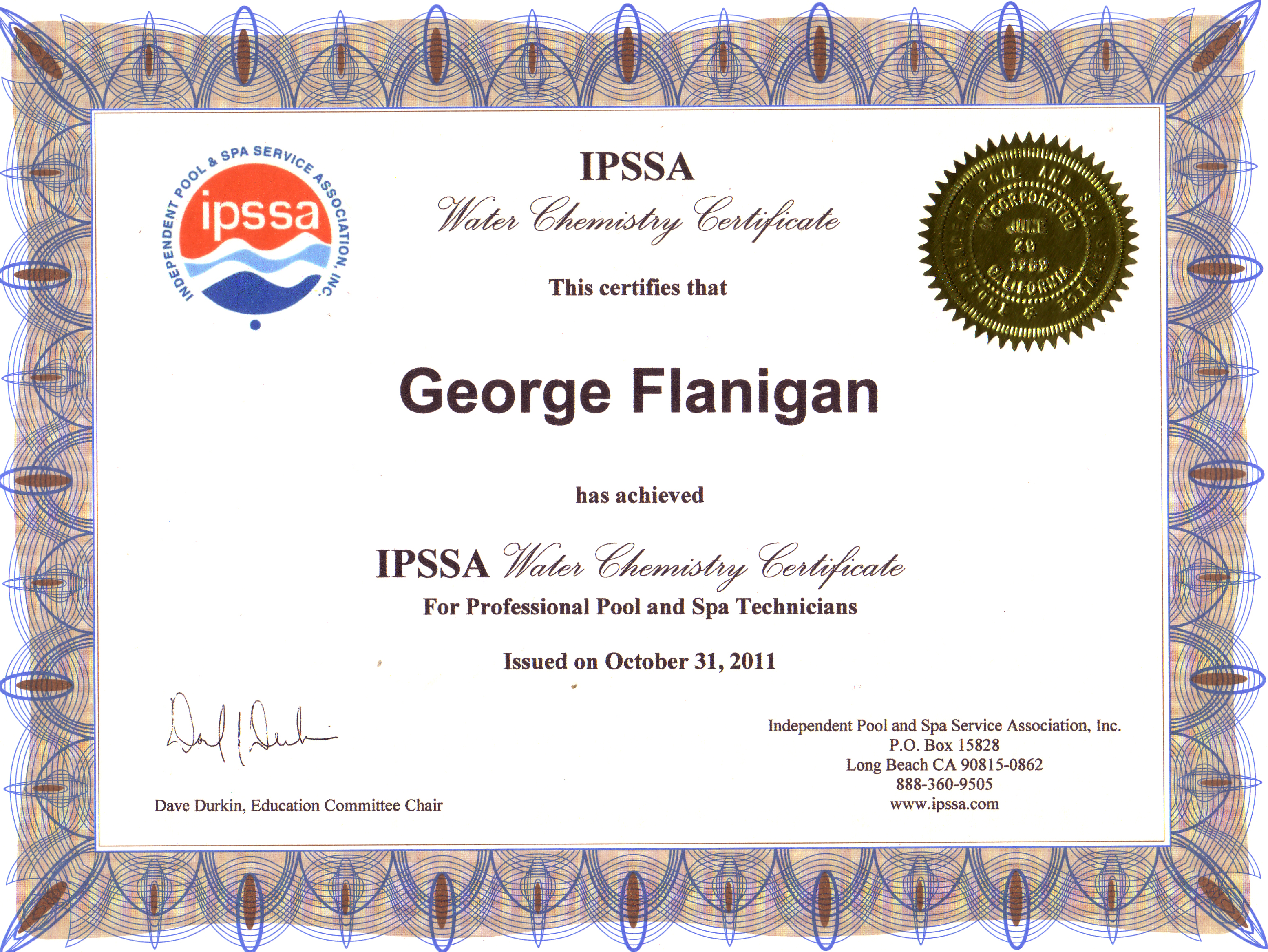 Alumni pool service contact page ippsa water chemistry certification 1betcityfo Images